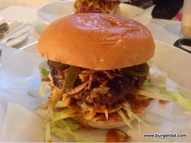 Byron Burgers Flaming Iceberg