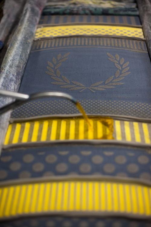 #藝術家高橋理子嶄新水玉線條呈現:FRED PERRY日本傳統手工拭巾 4