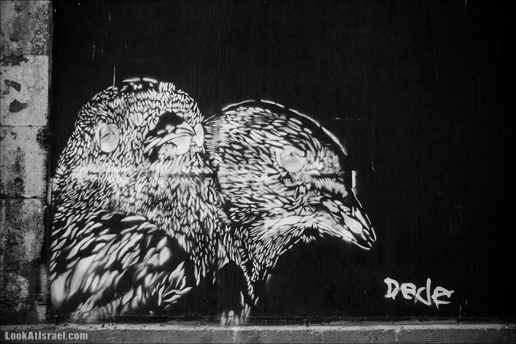 Граффити Тель Авива / Dede