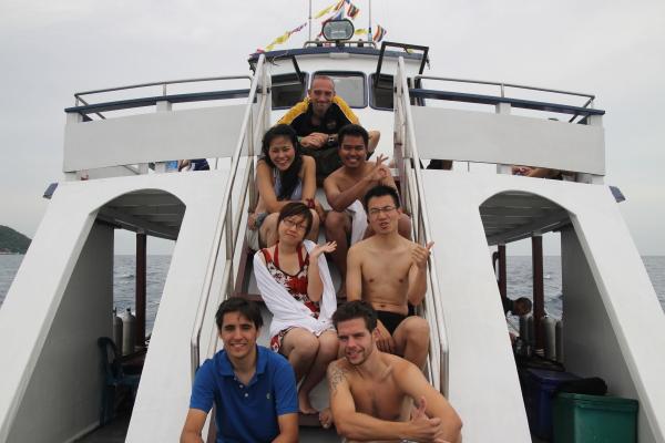 padi group certification in ko tao thailand