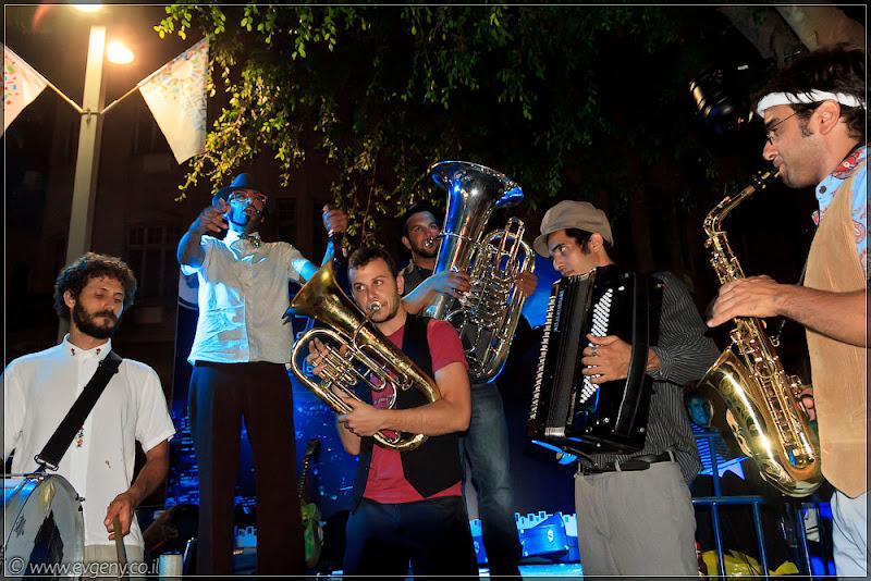 Белая ночь 2011 в Тель Авиве. Бульвар Ротшильд. Часть 3