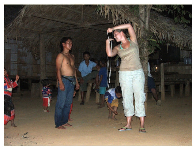 Hilltribe entertainment in Thailand