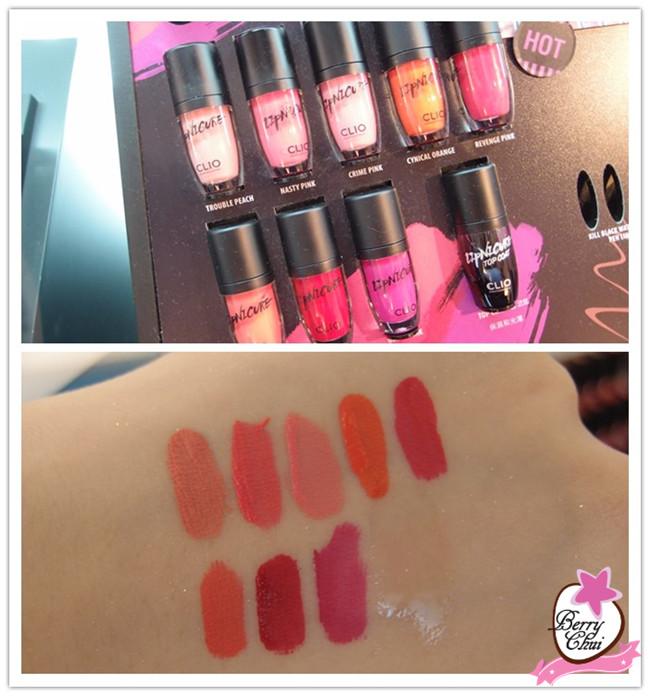 草莓 ♥ 美妝日誌: ♥【美妝】韓國人氣品牌。到訪CLIO APM專櫃 ♥