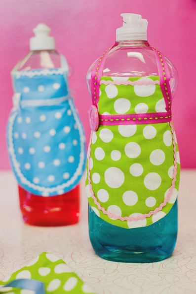 Decorar botellas.