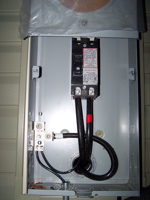 ground wire meter socket to panel  doityourself