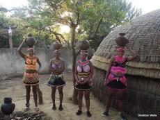 Zulu Maidens at Shakaland