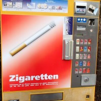 Zigaretten, le self-service allemand