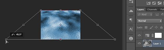 Aplicação da perspectiva na camada da água