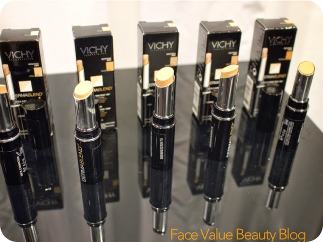 vichy dermablend concealer corrective makeup blogger launch review