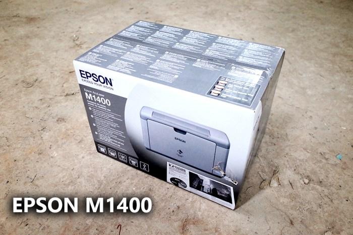 【使用紀錄】EPSON AcuLaser M1400