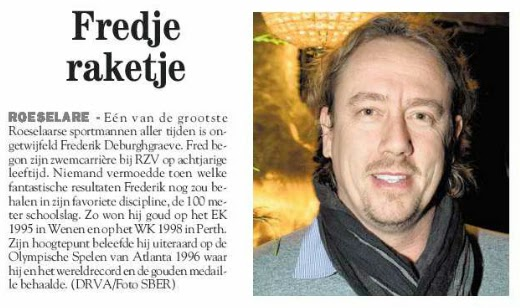 Frederik Deburghgraeve: Fredje raketje - streekkrant 60 jaar