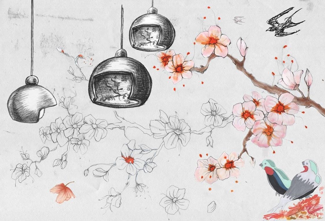 *Juuyo藝妓假髮燈具:Lorenza Bozzoli 詮釋日本文化的神秘魅力! 4