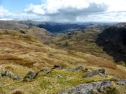 Easedale from Calf Crag