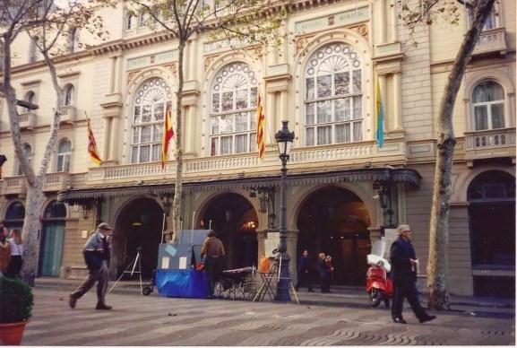 Barcelona. Teatro del Liceo