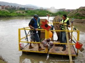 Navegando por el río Tunjuelo