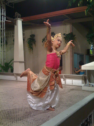 Young Thai dancer