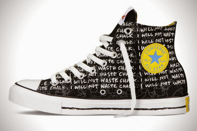*The Simpsons x Chuck Taylor All Star:辛普森家族這次不吃甜甜圈! 4