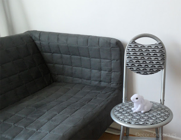 Celo washi tape para decorar una silla