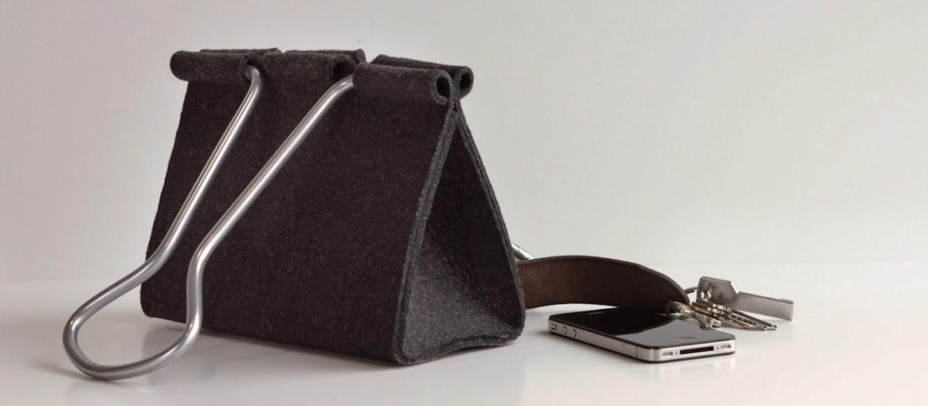 # Clip Bag長尾夾手提包:辦公文具與你形影不離! 7