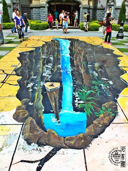 埔里景點:元首館-超深大峽谷,路過危險!