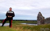 Dad at Clonmacnoise