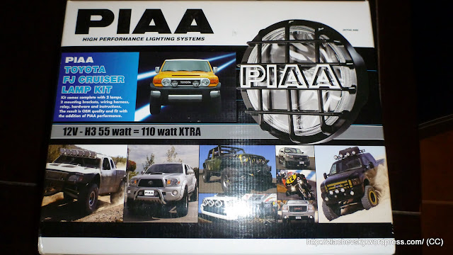 PIAA Fog Lights Install on FJ Cruiser–Non invasive (1/6)
