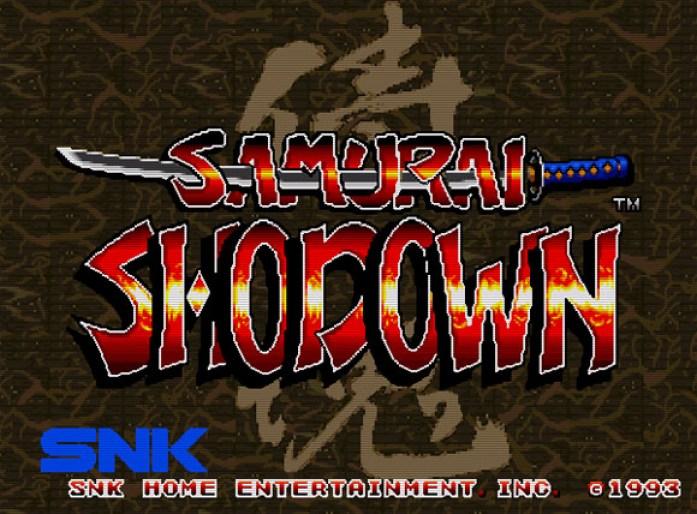 Samurai Shodown tela título
