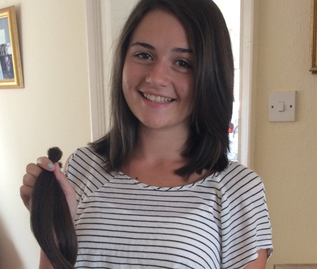 I Found Out That To Donate To The Little Princess Trust At Least  Inches Of Hair Needs To Be Cut Off I Was Hoping To Cut My Hair Just Below The
