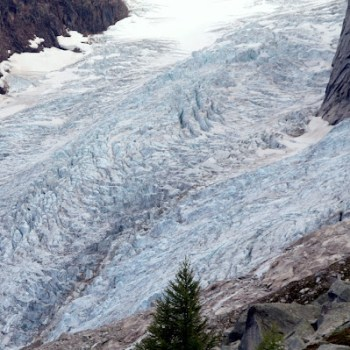 Bugaboo Glacier from Boulder Campground