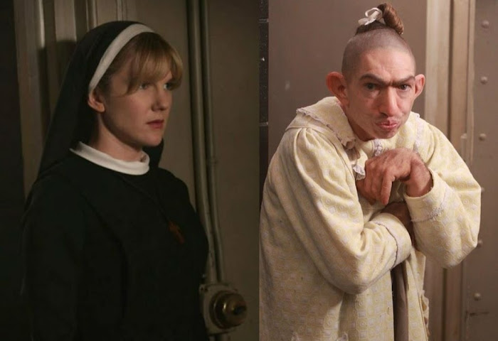 Lily Rabe interpreta Sister Mary Eunice novamente em