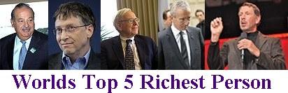 Forbes Rich List - World's Billionaires List 2011 – An ...