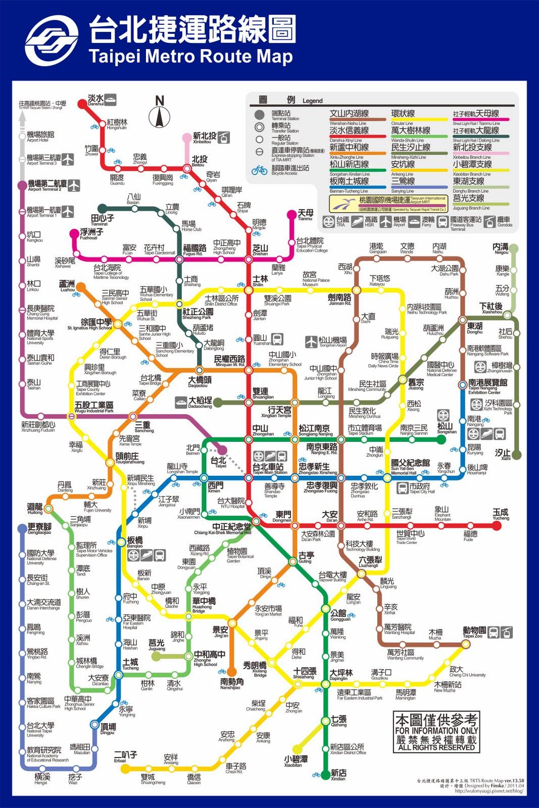 jonesking: 臺北捷運想像圖
