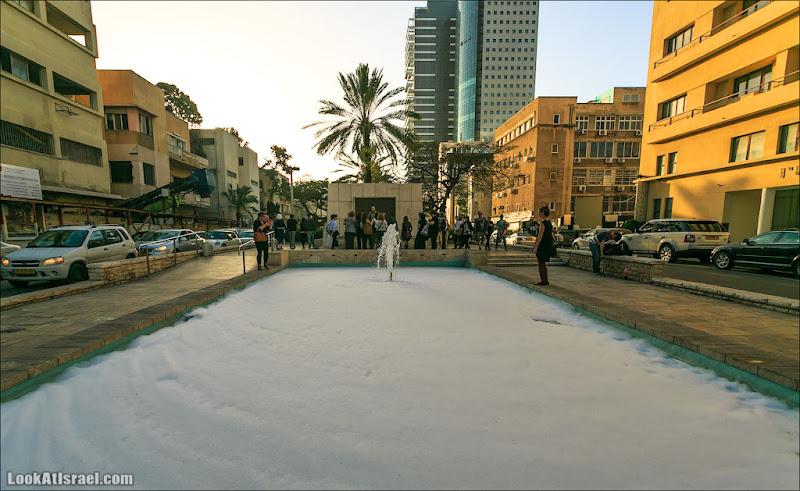 Одно фото / Снег в Тель Авиве