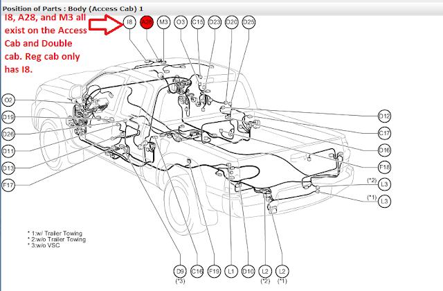 Toyota Diagrams : Wiring Diagram Under Dash 2011 Toyota
