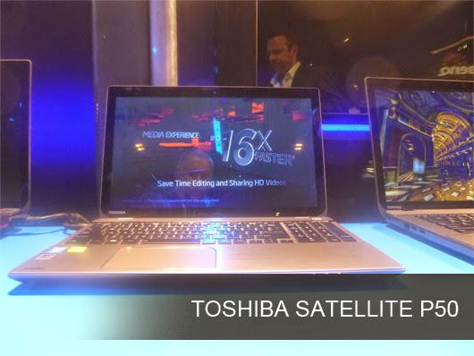 Toshiba Satellite P50