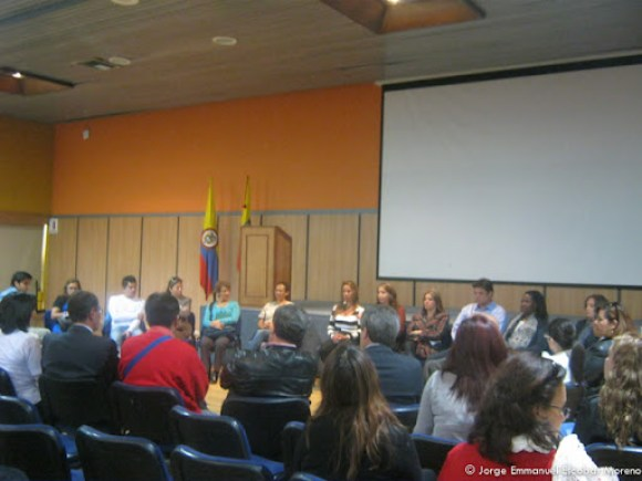 Asistentes al IDRD, proyecto concha acústica sobre el humedal El Salitre