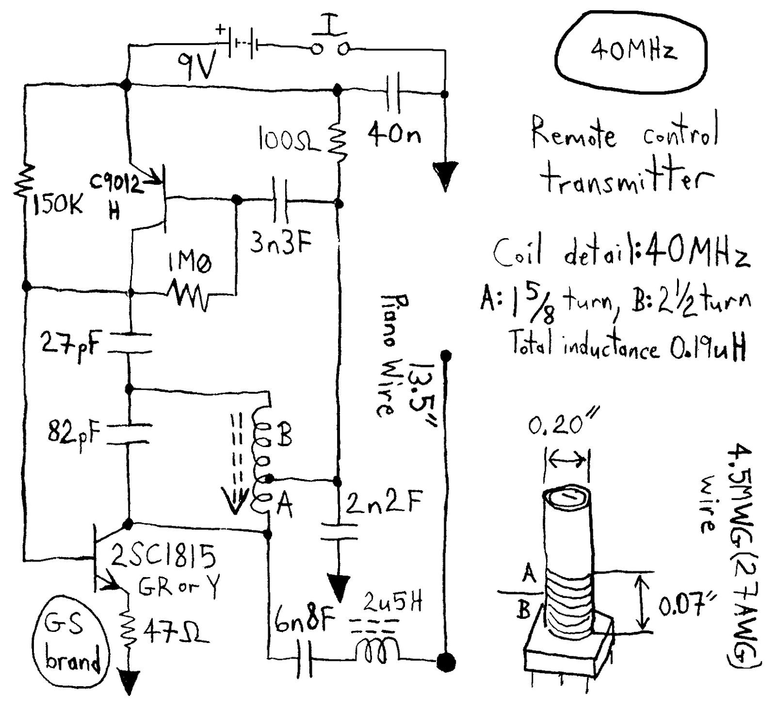 Eletronica Do Papai Noel Circuitos De 27 40 E 49 Mhz