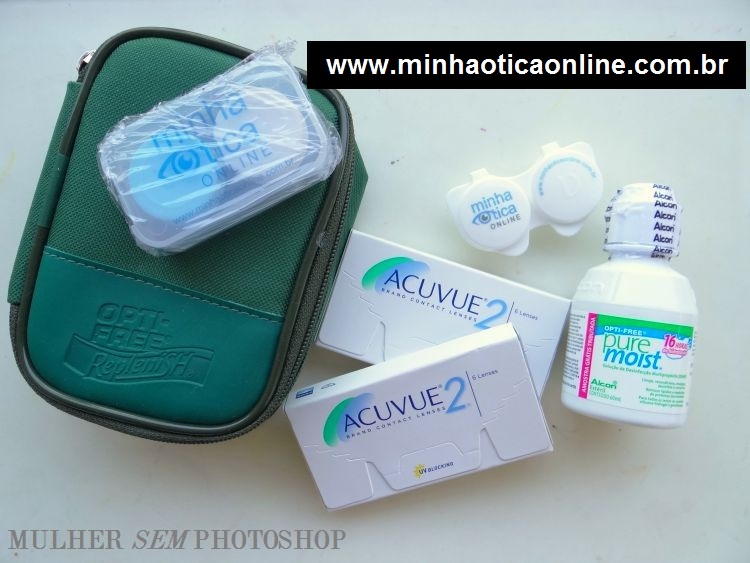 Vai comprar lente de contato online - Minha Ótica Online