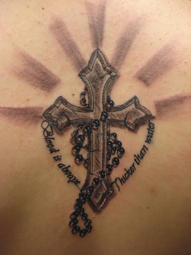 Catholic Cross Tattoos For Girls 52 Best Cross T...