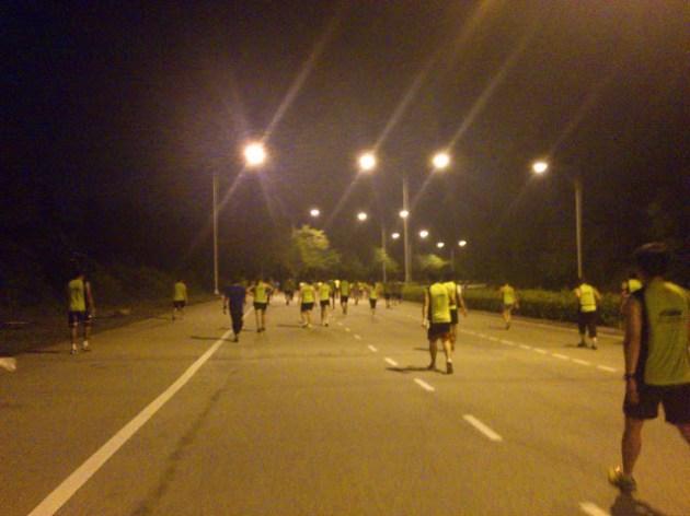 Runners everywhere! All walking lol