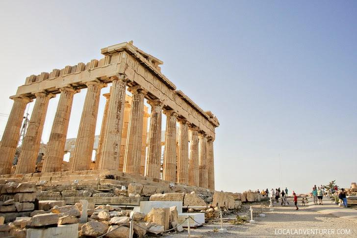 Athens Parthenon.