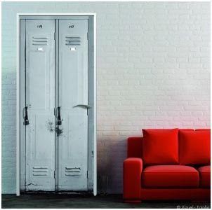 decorar puertas con vinilos