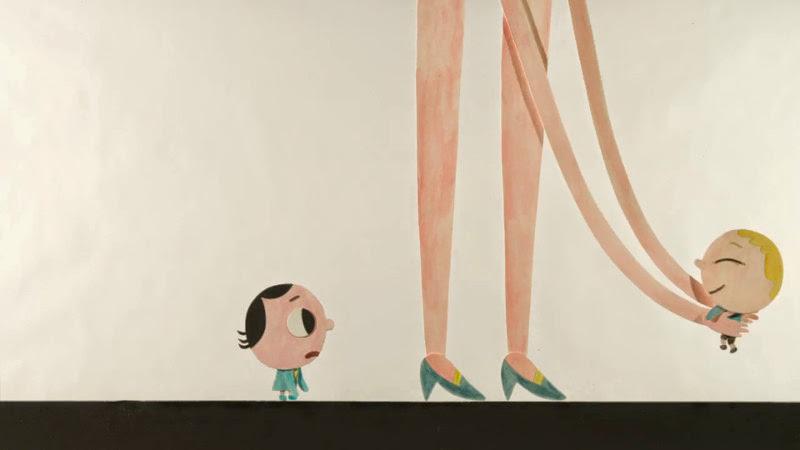 *小朋友的好奇世界:紅色高跟鞋的媽媽也太高了吧! 2