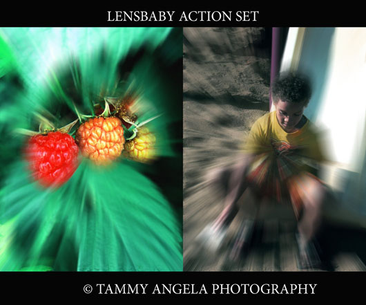 Lensbaby action photoshop