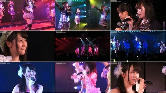 "(LIVE)(公演) AKB48 チーム4 ""アイドルの夜明け"" 小林茉里奈 大川莉央の生誕祭 150226 & 150301 & 150304"