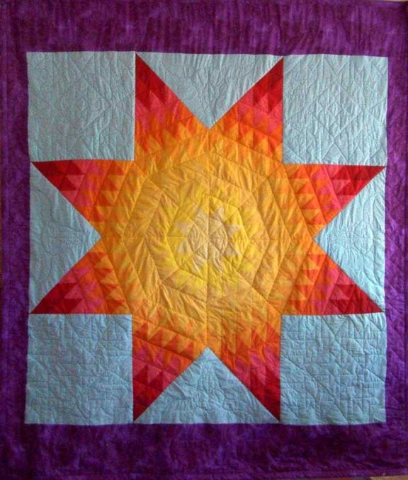 Native American Star Quilts