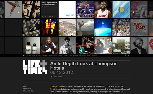 *馬賽克牆風格的歌手官網|Jay-Z Web Site 6