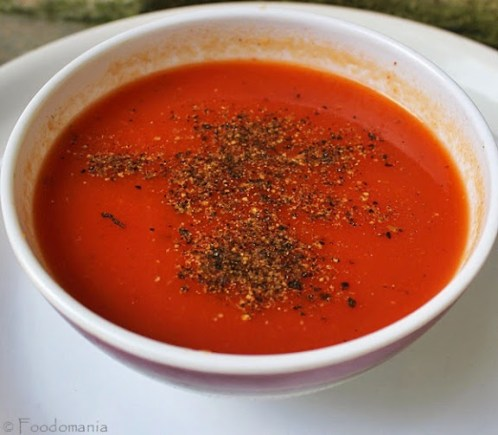 TOMATO SOUP RECIPE | Healthy Vegan Tomatoes & Vegetable Soup