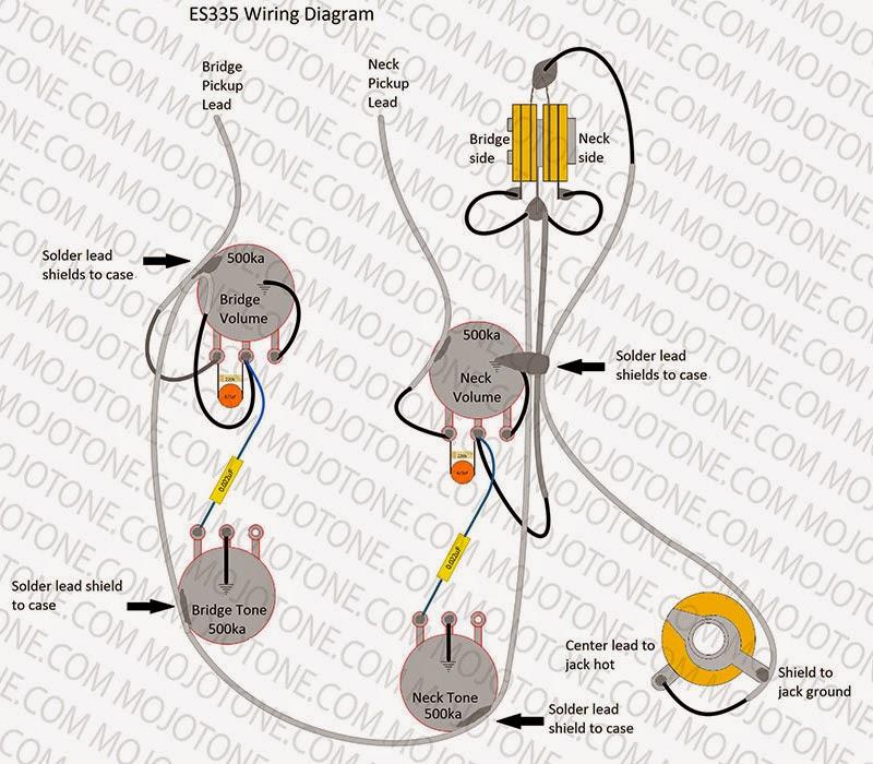 60s Les Paul 50s Wiring