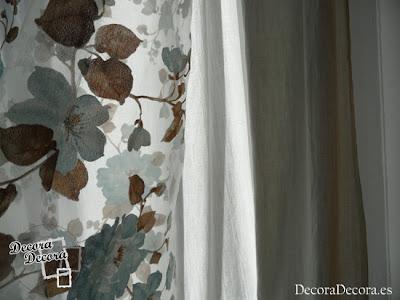 Visillos para decorar ventanas.